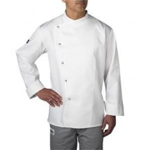 Chefwear 5620-WH White Four Star Snap Jacket