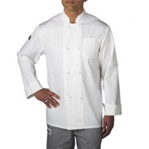 Chefwear 5650-40 White Cloth-Knot Button Jacket