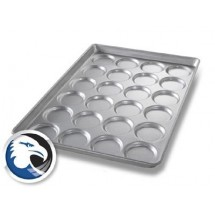 Chicago Metallic B2409 Individual Hamburger Bun/Muffin Pan