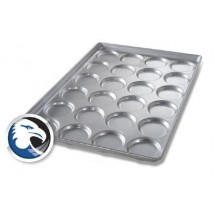 Chicago Metallic B2413 Individual Hamburger Bun/Muffin Pan