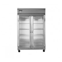 Continental 2F-GD-HD Freezer Display Two Section Glass Doors