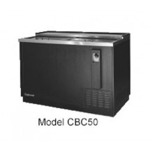 Continental CBC50 Flat Top Bottle Cooler 50
