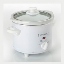 Continental CE33221 2 Qt. Round Slow Cooker