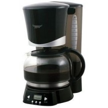 Continental CP43669 10 Black Cup Coffee Maker