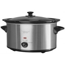 Continental CP43879 7.0 Quart Oval Crock Pot/Slow Cooker