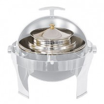 Crestware CHAELRSS 6 Qt. Round Soup Station