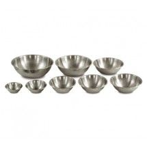 Crestware MBP00 Mixing Bowl with Satin Finish 3 / 4 Qt.