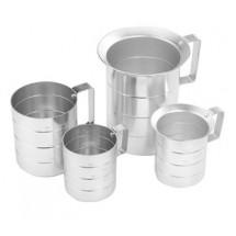 Crestware MEA05D Dry Measuring Cup 1 / 2 Qt.