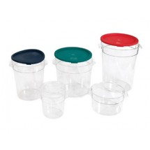 Crestware RCCL1 Lid Fits 1 Qt. Round Food Storage Container