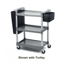 Crestware RTB Refuse & Silverware Bin Set For Utility Carts RTROLLEY and LTROLLEY