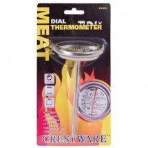 Crestware TRMDM200 Dial Type Meat Thermometer with Stem