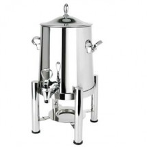 Eastern Tabeletop 2125 Silverplated Pillar'd 5 Gallon Coffee Urn