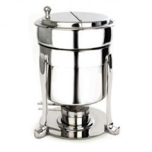 Eastern Tabletop 2107FS Silverplated Freedom 7 Qt. Marmite Soup Stand
