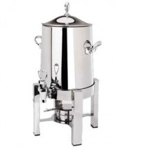 Eastern Tabletop 2143 Silverplated Pillar'd Squared 3 Gallon Coffee Urn