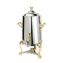 Eastern Tabletop 3001FS Freedom 1.5 Gallon Insulated Coffee Urn with Brass Accents