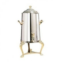 Eastern Tabletop 3001QA Queen Anne 1.5 Gallon Insulated Coffee Urn with Brass Accents