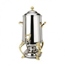 Eastern Tabletop 3201QA Queen Anne 1.5 Gallon Coffee Urn With Brass Accents