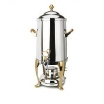Eastern Tabletop 3203FS Freedom 3 Gallon Coffee Urn with Brass Accents