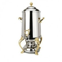 Eastern Tabletop 3203QA Queen Anne 3 Gallon Coffee Urn with Brass Accents