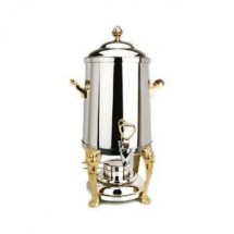 Eastern Tabletop 3205LH   Lion Head 5 Gallon Coffee Urn with Brass Accents