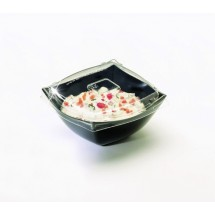 Emi Yoshi EMI-SB8LP PET Lid for Square 8 oz. Serving Bowl- 100 pcs