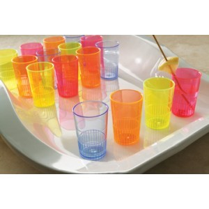 Emi Yoshi EMI-YNL15MIX Neon Lights 1.5 oz. Shooters Multi Colored - 300 pcs