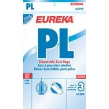 Eureka 62389A6 PL Vacuum Bags Fits 4750A Upright, 3 Pack
