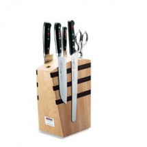 FDick 8809000 Wooden Premier Plus, Magnetic Knife Block