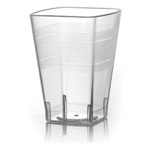 Fineline Settings 1110CL Wavetrends Clear 10 oz. Tumbler-168 pcs
