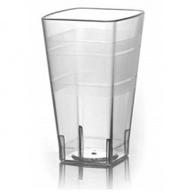 Fineline Settings 1112CL Wavetrends Clear 12 oz. Tumbler-168 pcs