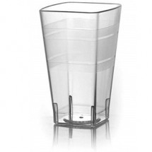 Fineline Settings 1114CL Wavetrends Clear 14 oz. Tumbler-168 pcs