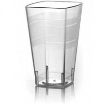 Fineline Settings 1116CL Wavetrends Clear 16 oz. Tumbler-168 pcs