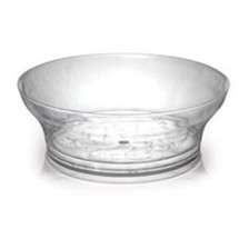 Fineline Settings 311 Savvi Serve 10oz. Clear Bowl-240 pcs