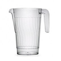 Fineline Settings 3401 Platter Pleasers 50oz. Clear Pitcher-50 pcs