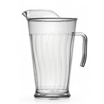 Fineline Settings 3402 Platter Pleasers 60oz. Clear Heavy Duty Pitcher-12 pcs