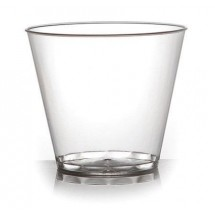 Fineline Settings 409 Savvi Serve 9oz. Clear Old Fashioned Tumbler-500 pcs