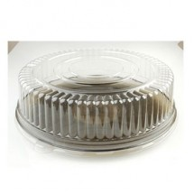 Fineline Settings 9201-L Platter Pleasers Clear 12&quot; Dome Lid (PET)-25 pcs