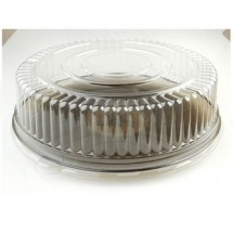 Fineline Settings 9601-L Platter Pleasers Clear 16&quot; Dome Lid-25 pcs