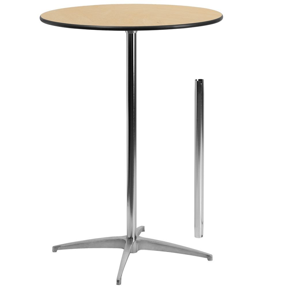 Flash furniture xa 30 cota gg 30 39 39 round wood cocktail Round cocktail table