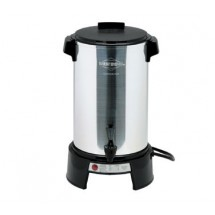 Focus 43536 West Bend Polished Aluminum 36 Cup Coffee Maker