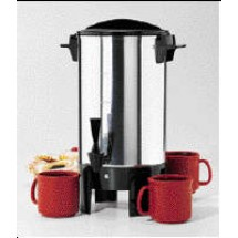 Focus 58030R Polished Aluminum Residential Regal (K7033) Coffee Maker