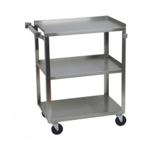 Focus 90312 Open Base 3 Shelf Utility Cart