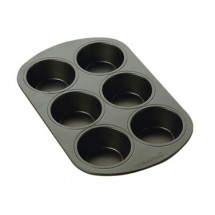 Focus 906206 Non-Stick 6 Cup Muffin Pan