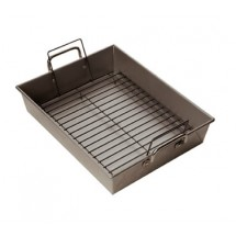 Focus 977943 Bake & Roast Pan with Handles and Rack