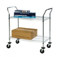 Focus FFC18362CH 2 Shelf Utility Cart