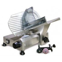 "Food Machinery of America 195F 8"" Manual Meat Slicer with Removable Blade Sharpener"