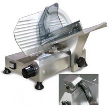 "Food Machinery of America 195S 8"" Manual Meat Slicer with Fixed Blade Sharpener"