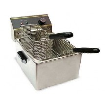 Food Machinery of America EF6L Single Fry Pot Electric Deep Fryer