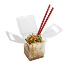 GET Enterprise EC-03 20 Oz. 1 Compartment Chinese Food Container