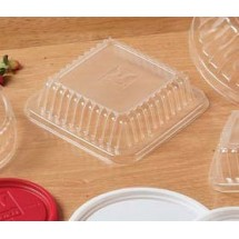 GET Enterprise LID-DL9-CL Disposable Dome Lid for Bauscher #213215